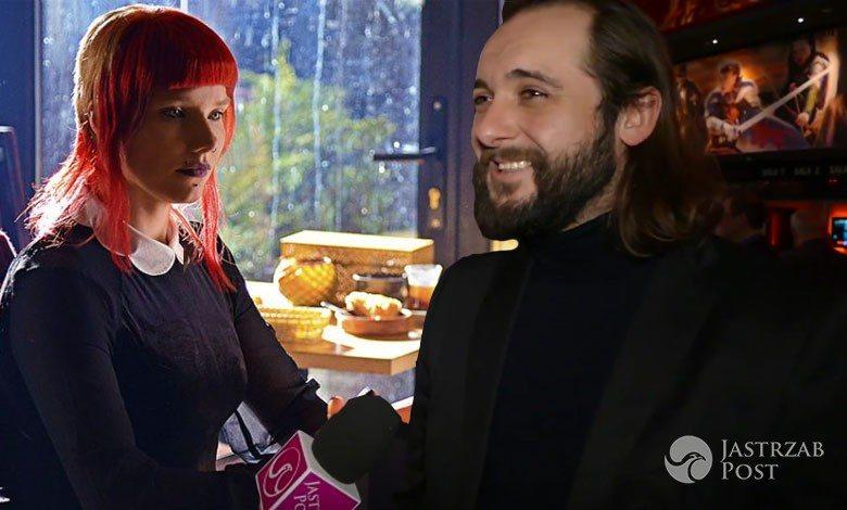 Czy Michał Żurawski lubi pracować ze swoją żoną Romą Gąsiorowską?