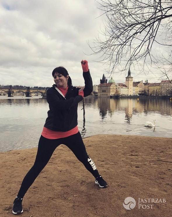 Ewa Farna chwali się treningami