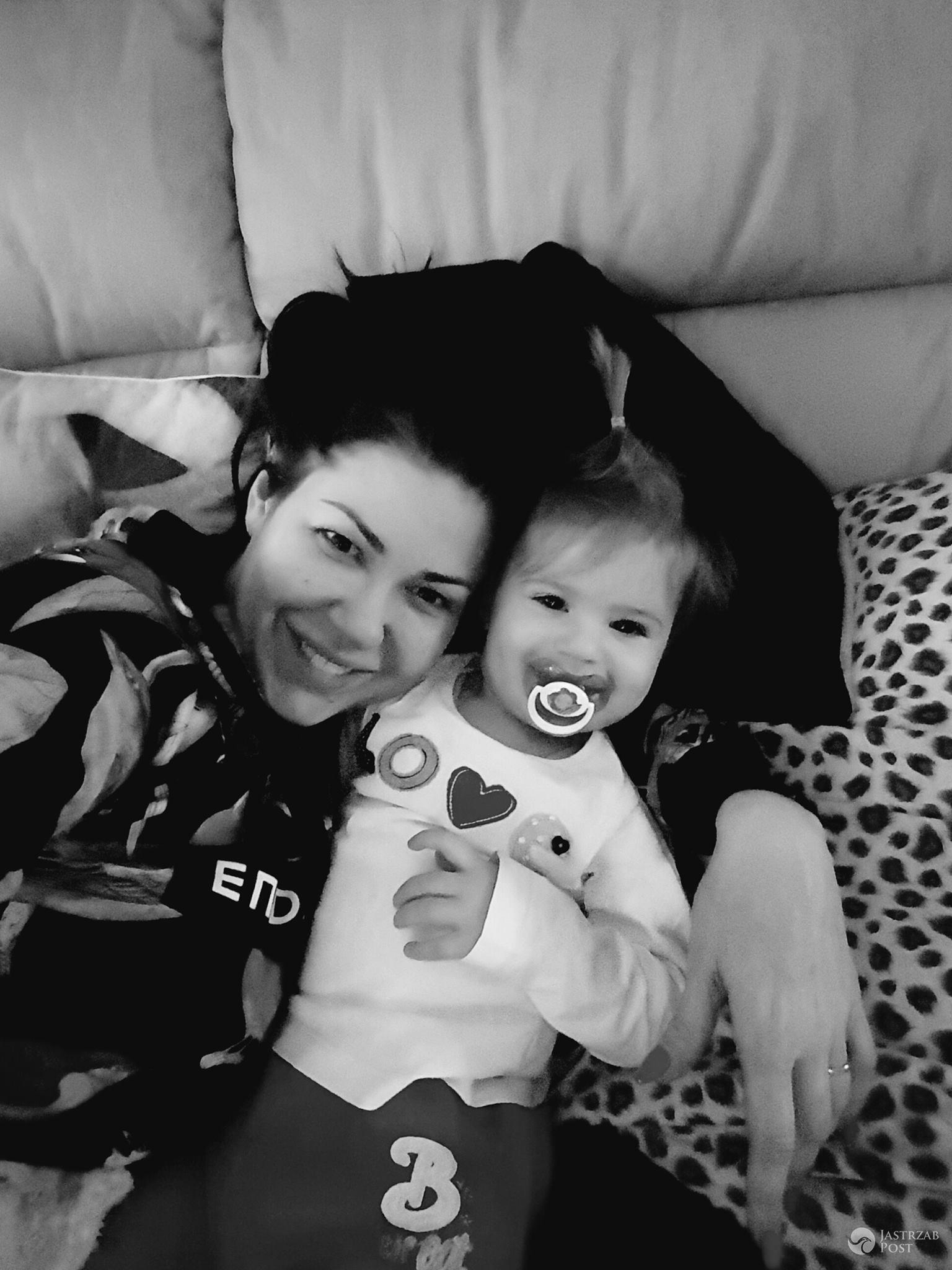 Iwona Węgrowska z córką w Dniu Kobiet 2017