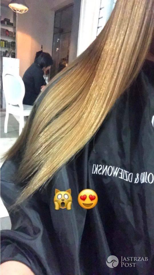 Misheel Jargalsaikhan przefarbowała się na blond