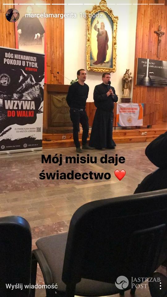 Wykład Michała Koterskiego w kościele