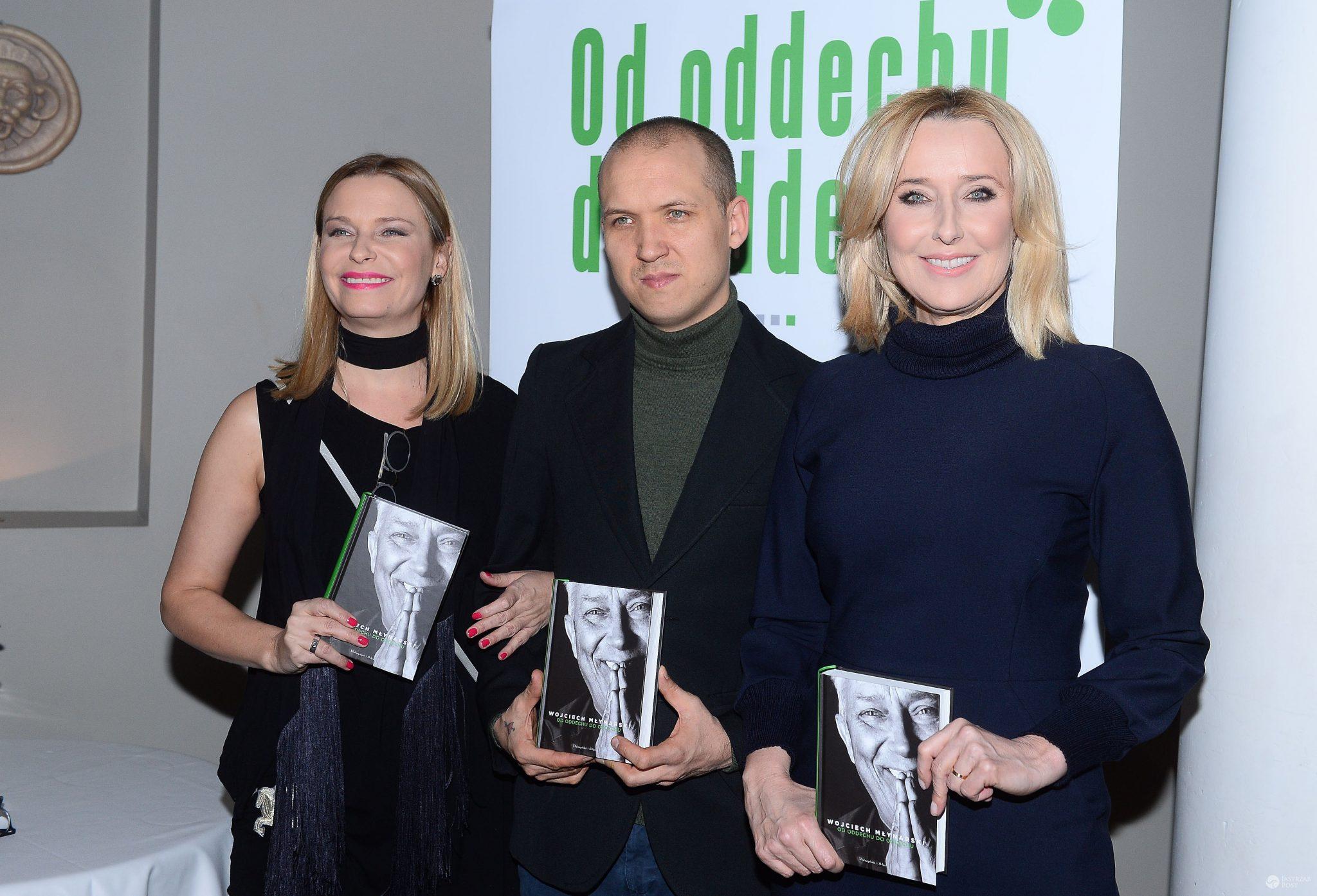 Paulina, Jan i Agata Młynarscy - dzieci Wojciecha Młynarskiego