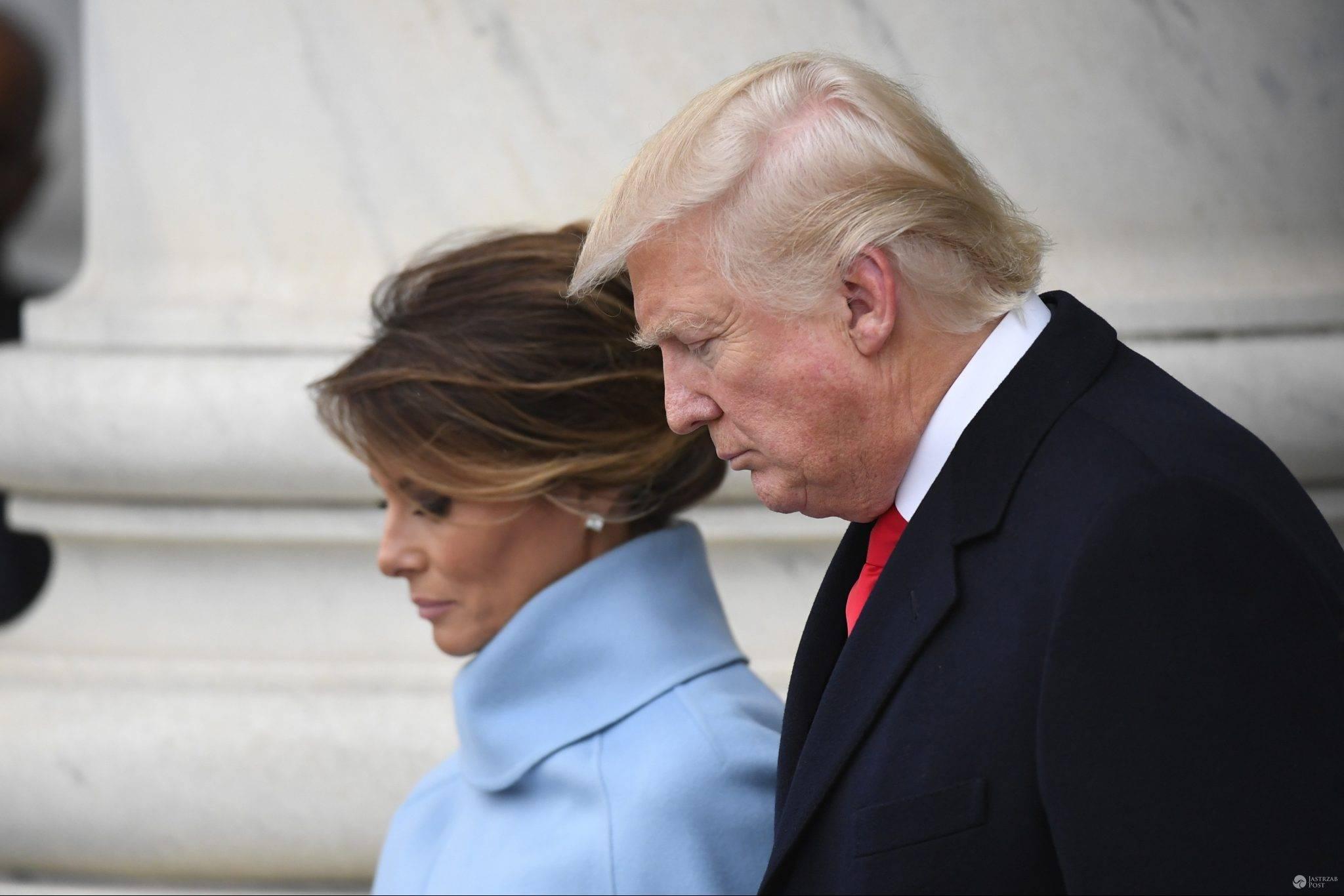Melania Trump polubiła post na Twitterze