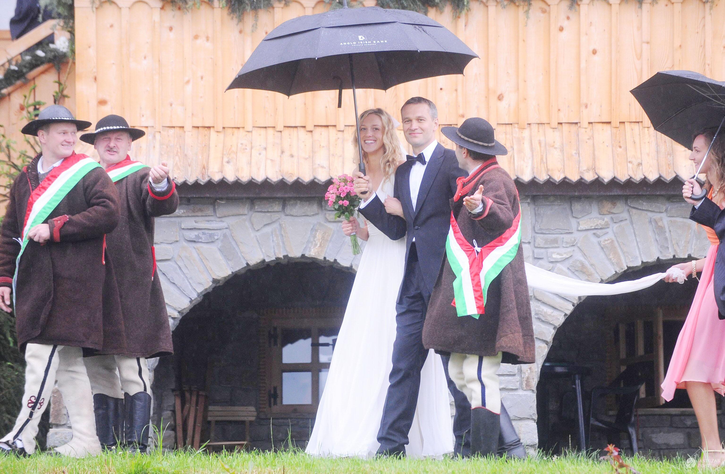 Ślub Aleksandry i Michała Żebrowskich