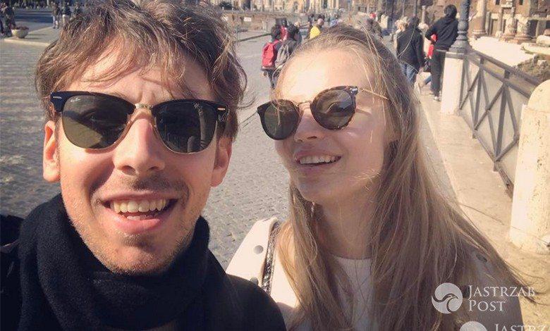 Alex Przetakiewicz i Magdalena Frąckowiak na wakacjach