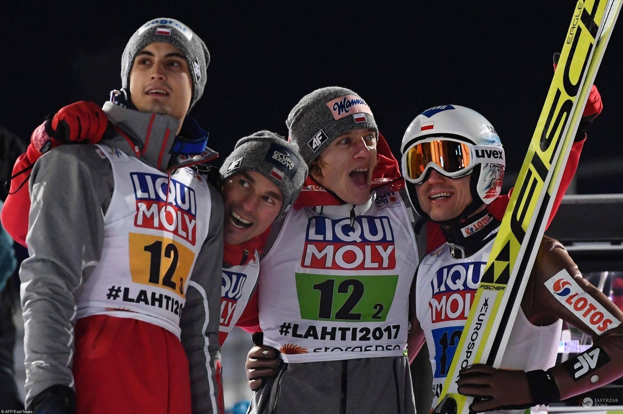 Polacy Mistrzami Świata w Skokach Narciarskich w Lahti
