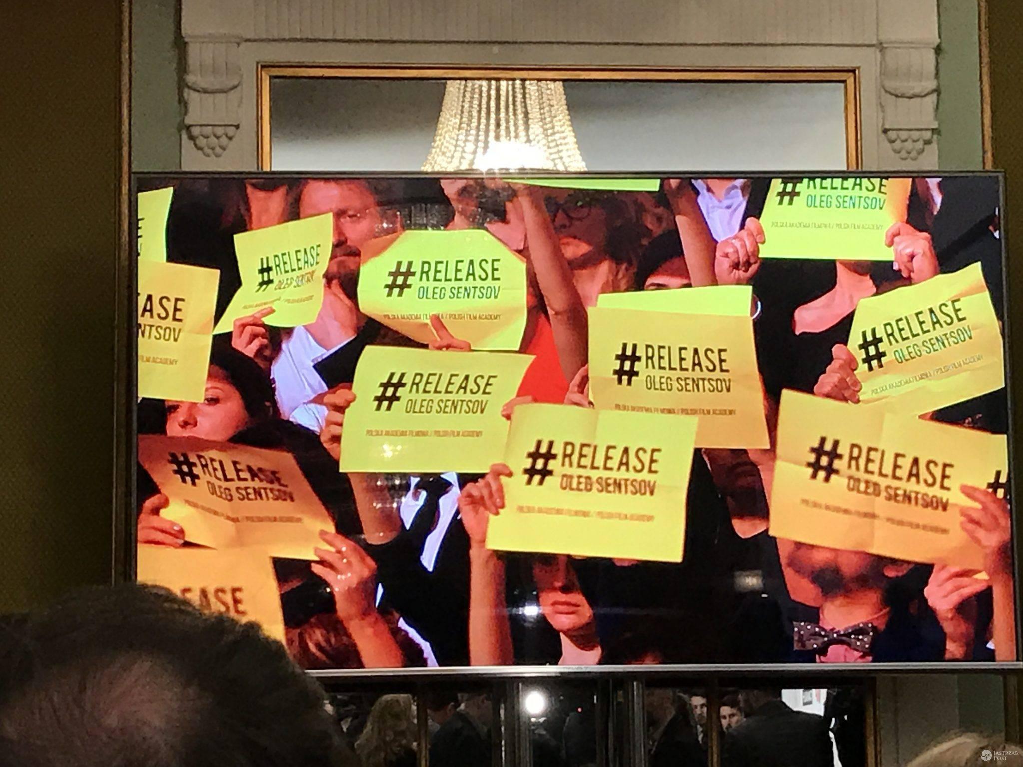 Wolność dla Olega Sentsova - apel gwiazd na Orłach 2017