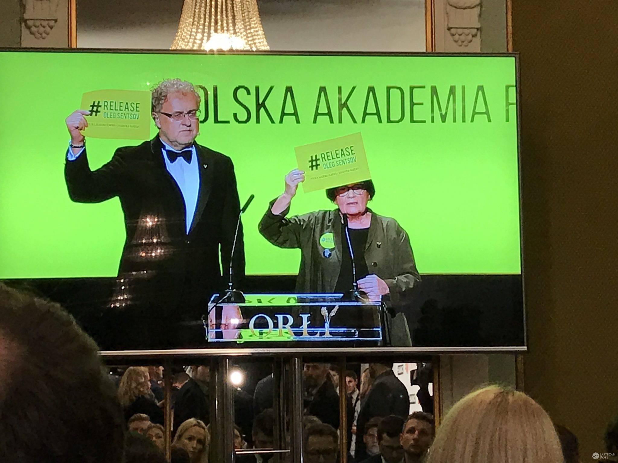 Wolność dla Olega Sentsova - apel Agnieszki Holland i Dariusza Jabłońskiego