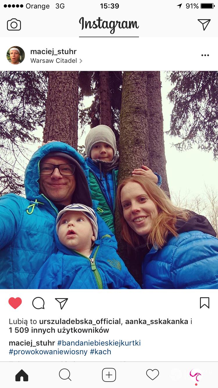Maciej Stuhr i Katarzyna Błażejewska pokazali syna Tadeusza
