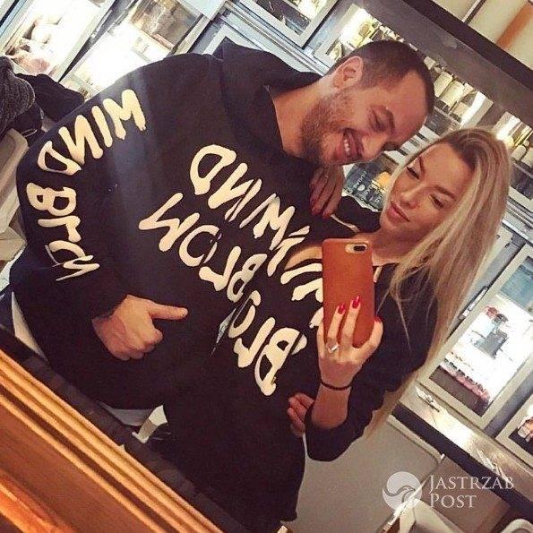 Ewa Chodakowska z mężem w bluzach La Manii