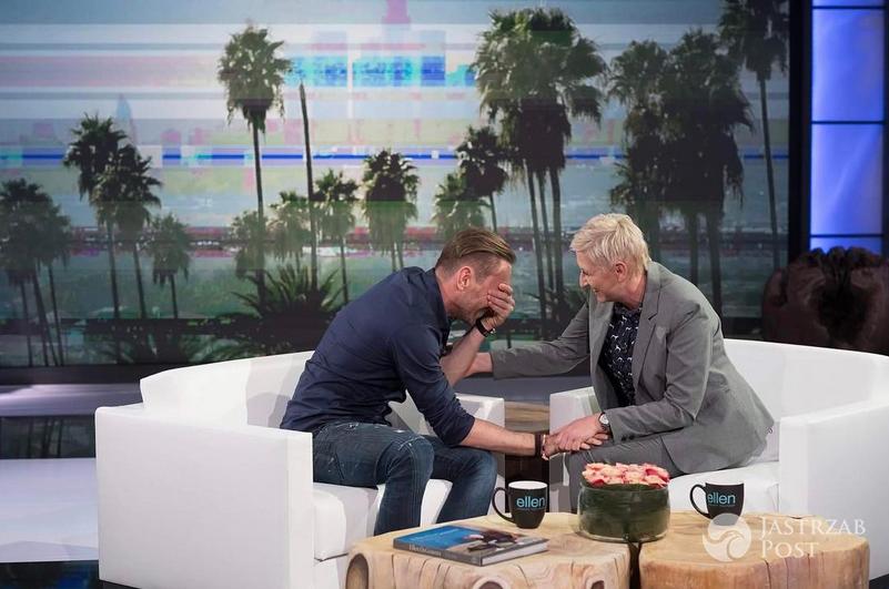 Ellen DeGeneres zaprosiła Łukasza Jakóbiaka?