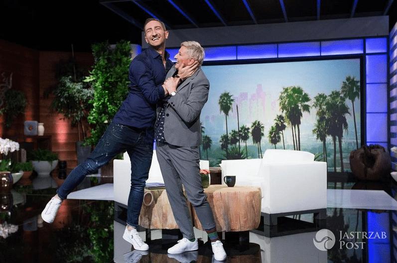 Wizualizacja Łukasza Jakóbiaka u Ellen DeGeneres