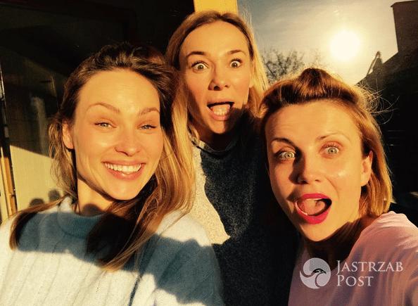 Katarzyna Zielińska, Sonia Bohosiewicz i Weronika Książkiewicz bez makijażu - Instagram