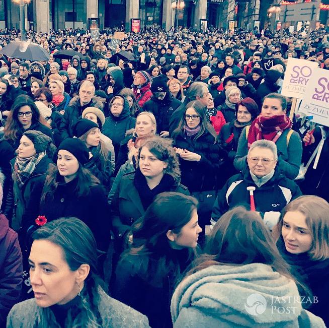 Kinga Rusin - Międzynarodowy Strajk Kobiet 2017