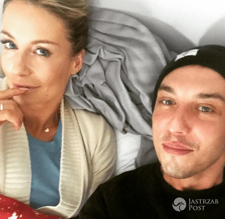 Małgorzata Rozenek w łóżku z Wiktorem Krajewskim