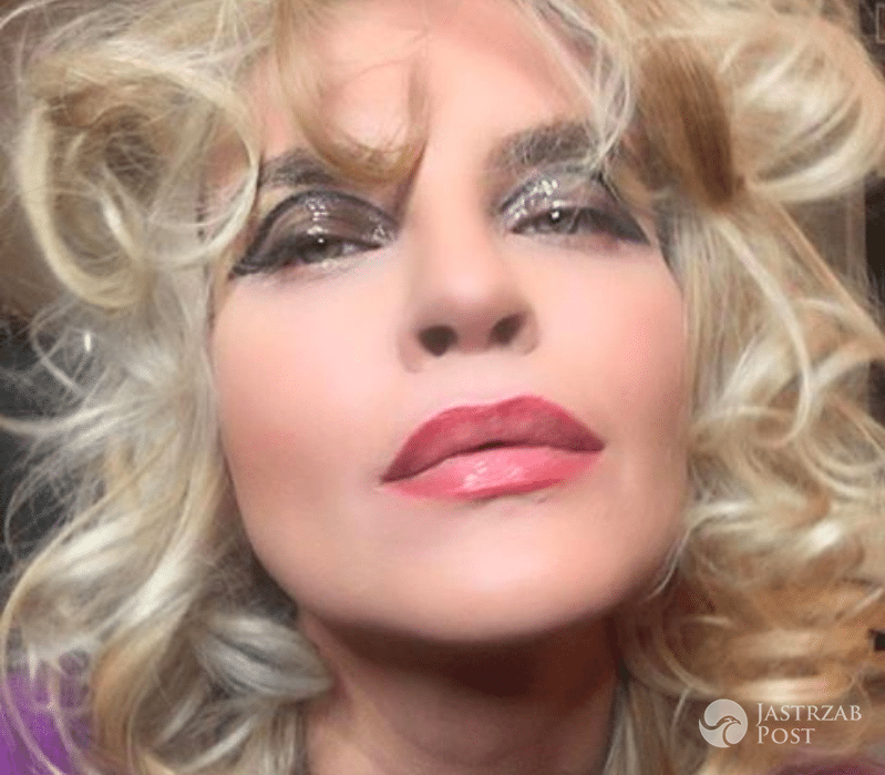 Makijaż Joanny Horodyńskiej W Stylu Lat 80 Jastrząb Post