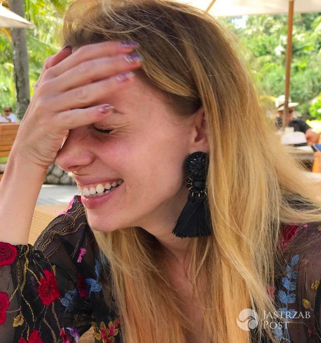 Izabela Janachowska bez makijażu na Instagramie