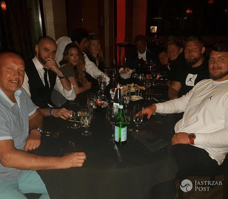 Alicja Bachleda-Curuś na kolacji z Marcinem Gortatem