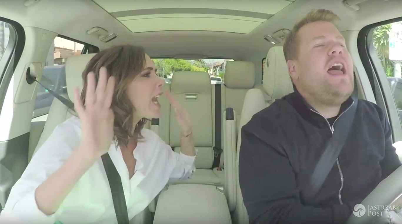 Victoria Beckham śpiewa w Carpool Karaoke