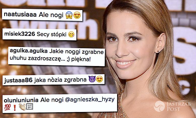 Agnieszka Hyży nogi Instagram