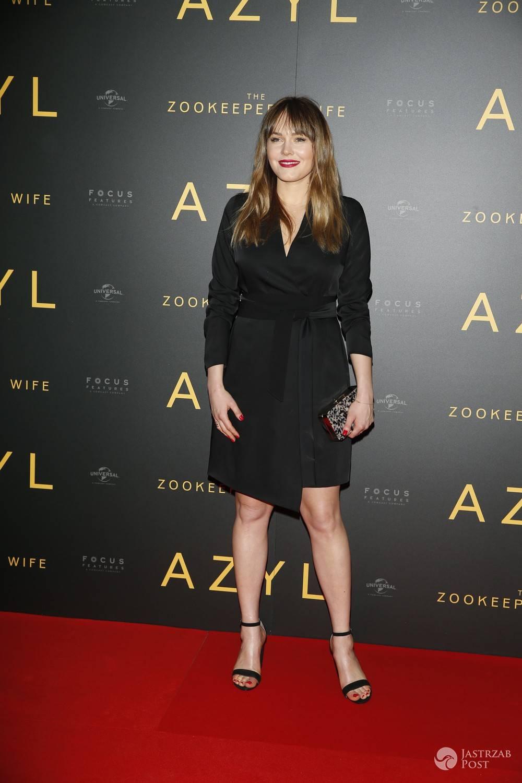 Magdalena Lamparska - premiera filmu Azyl 2017