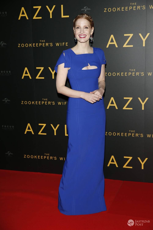 Jessica Chastain - premiera filmu Azyl 2017