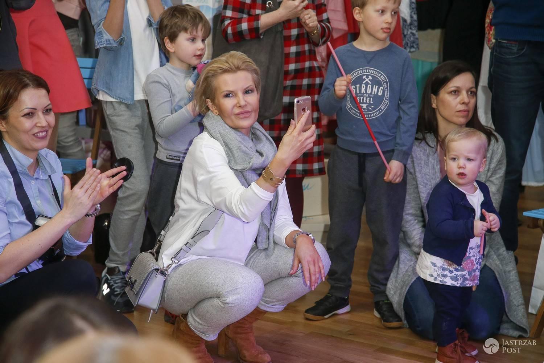 Joanna Racewicz w szkole tańca Michała Malitowskiego 2017
