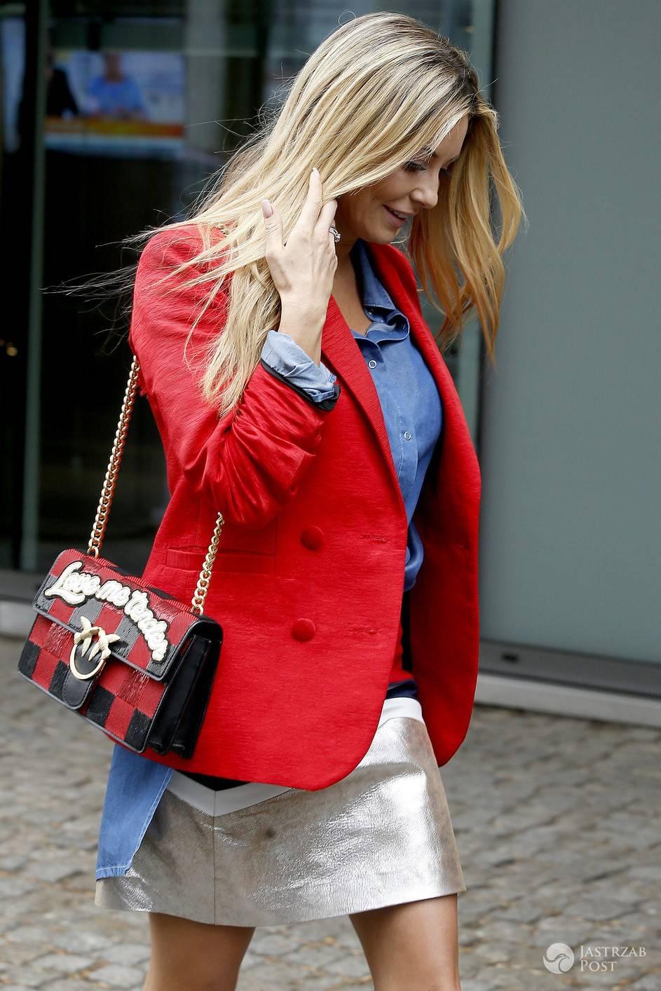 Małgorzata Rozenek z torebką Gucci