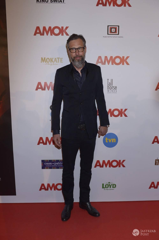 Szymon Majewski - premiera filmu Amok