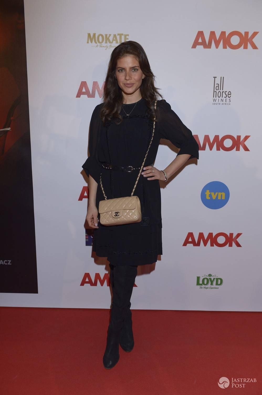 Weronika Rosati - premiera filmu Amok