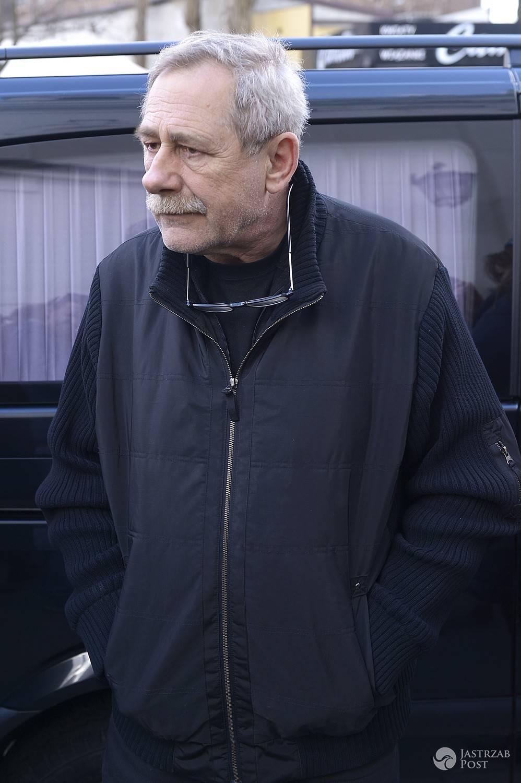Andrzej Strzelecki - pogrzeb Wojciecha Młynarskiego 2017