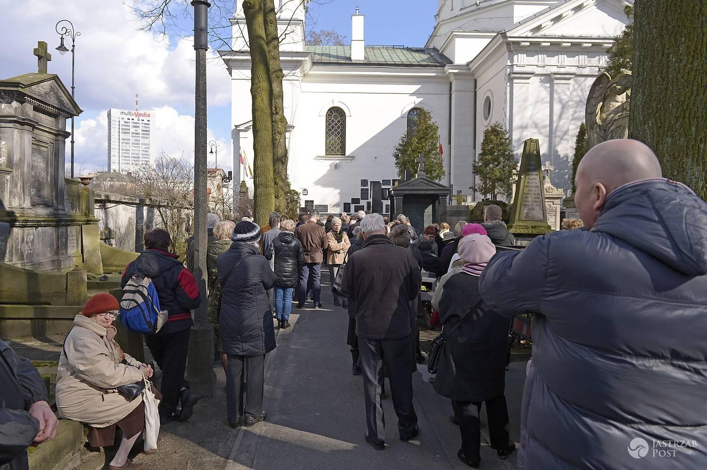 Pogrzeb Wojciecha Młynarskiego - zdjęcia