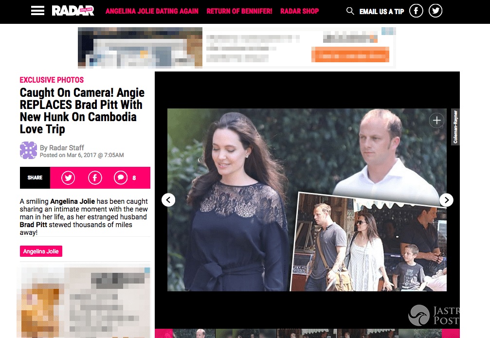 Angelina Jolie nowy partner