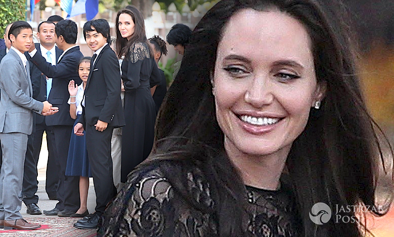 Angelina Jolie partner ochroniarz Kambodża