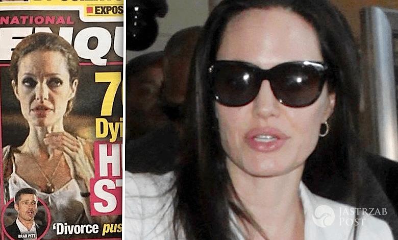 Angelina Jolie schudła ile waży