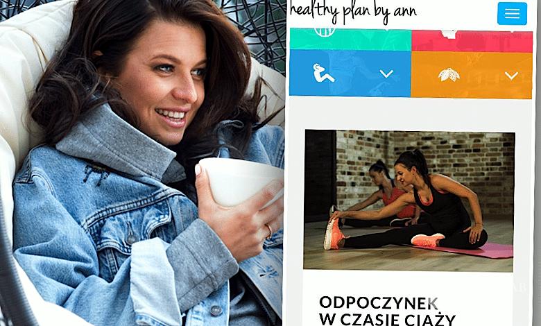 Anna Lewandowska o ciąży na blogu
