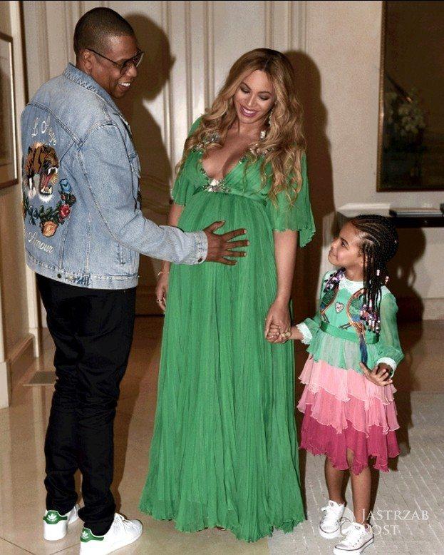 Beyonce z rodziną na imprezie