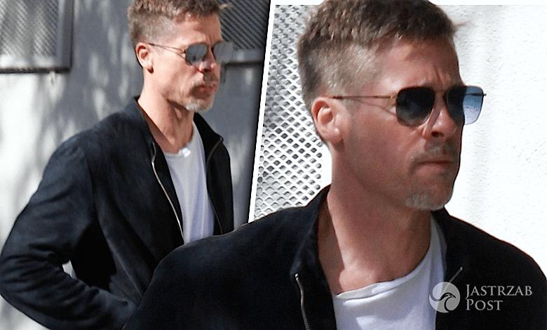 Brad Pitt wychudzony, szczupły, zdjęcia
