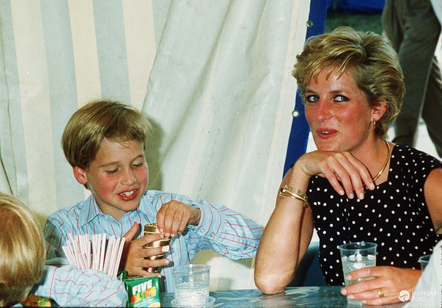 Co jadły dzieci księżnej Diany - William i Harry?