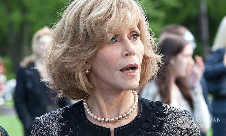 Jane Fonda molestowanie