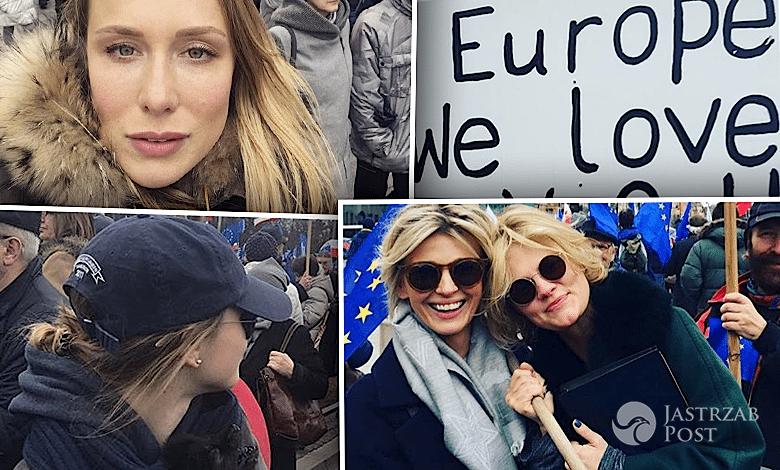 Marsz dla Europy gwiazdy zdjęcia 2017