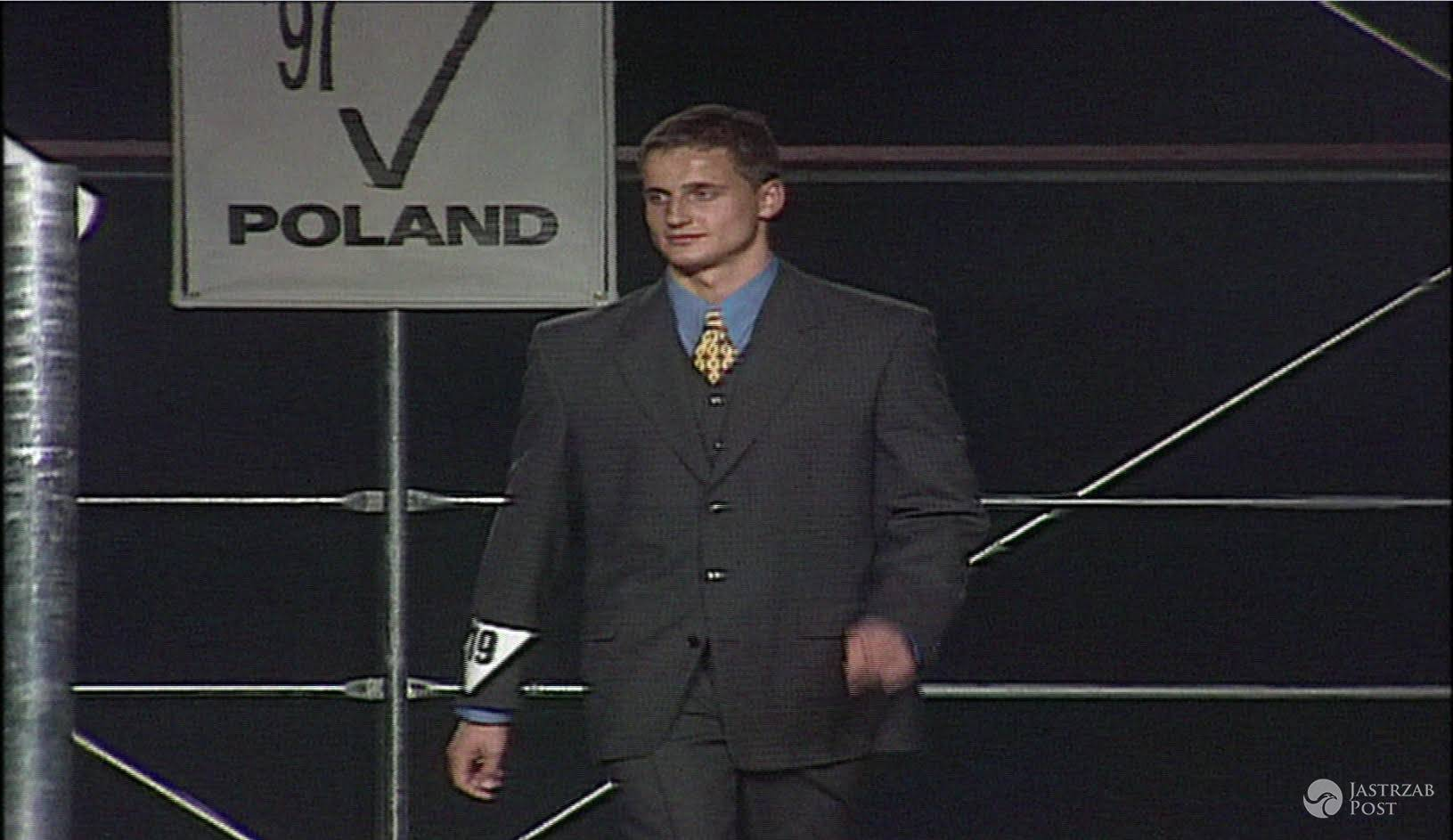 Robert Koszucki - Mister Polski 1997 rok