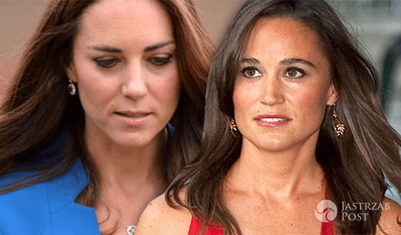 Pippa Middleton i księżna Kate
