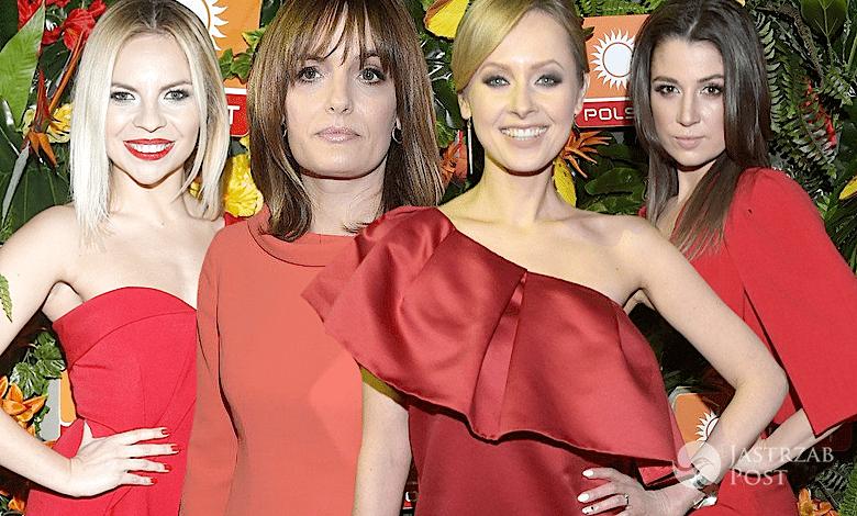 Czerwone sukienki wiosenna ramówka Polsatu 2017
