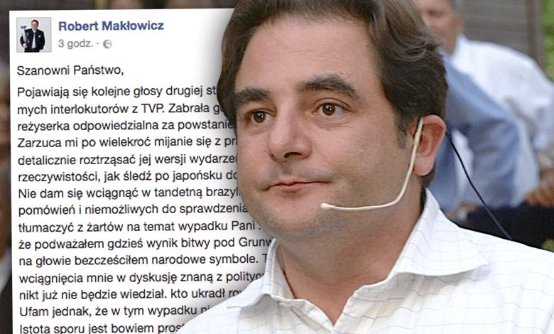 Robert Makłowicz zwolnienie z TVP