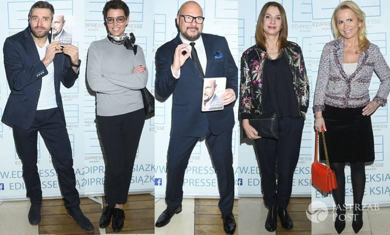 Gwiazdy na premierze książki Gąsowskiego