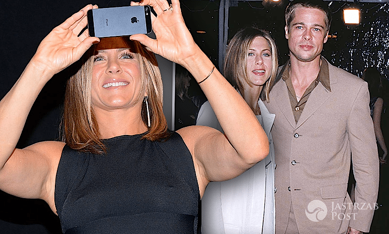 SMSy Jennifer Aniston Brad Pitt