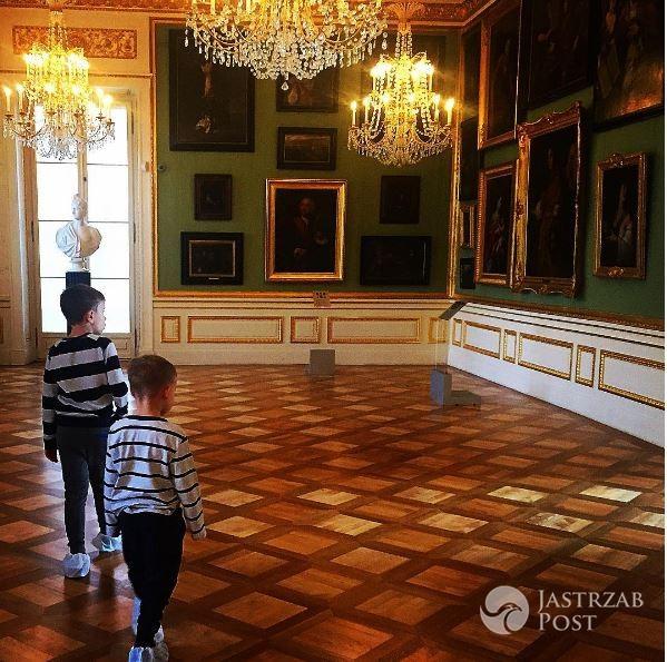 Sonia Bohosiewicz zabrała dzieci na wagary