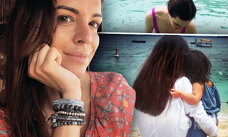 Anna Wendzikowska na wakacjach z dzieckiem Instagram