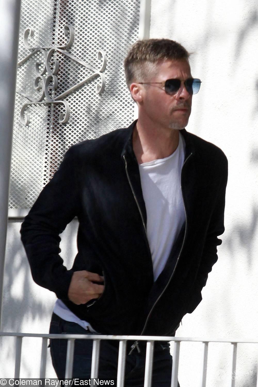 Zdjęcia wychudzonego Brada Pitta